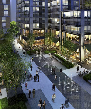 New Citycenter Brings Green Public Space To Downtown D C