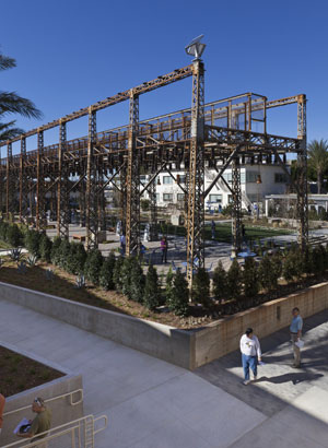 A new life for an industrial landscape in california the for Substation design