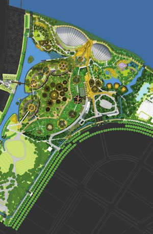 "Garden By The Bay Floor Plan with gardensthe bay, singapore aims to become the ""botanical"