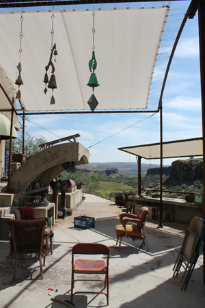 Arcosanti soleri s otherwordly reaction to sprawl the dirt for Landscape architects wellington