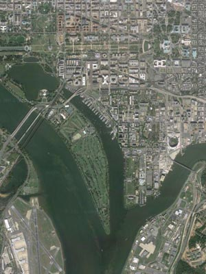 Image I DC Rivers Google Maps