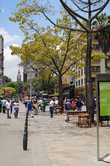 pedestrian-mall