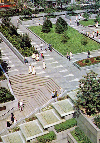 Pittsburghs Mellon Square Is Restored To Its Modern Glory