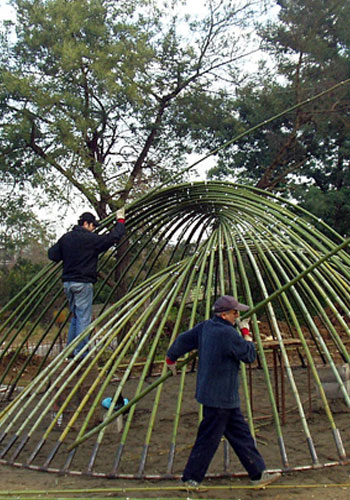 Bamboo-Structure-Tehran