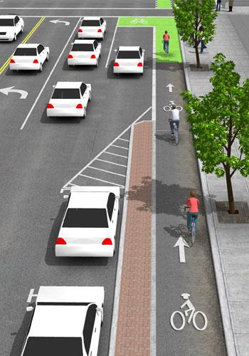 New Urban Bikeway Design Guide The Dirt