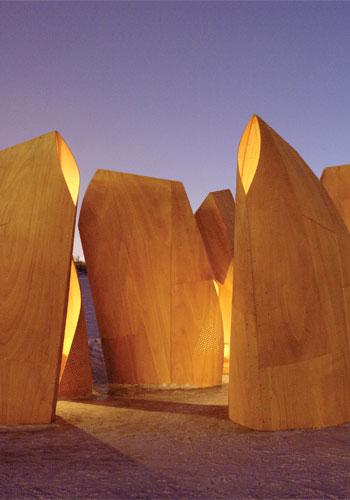 """""""Winnipeg Skating Shelters."""" Patkau Architects. Manitoba, Canida, 2010-11 / Patkau Architects"""