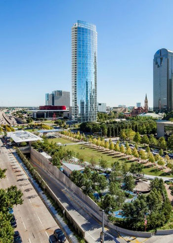 Klyde Warren Park Wins Open Space Award The Dirt
