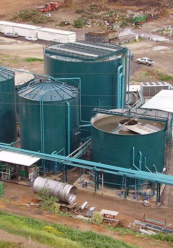 Anaerobic Biogas Digesters / Chris Tackett