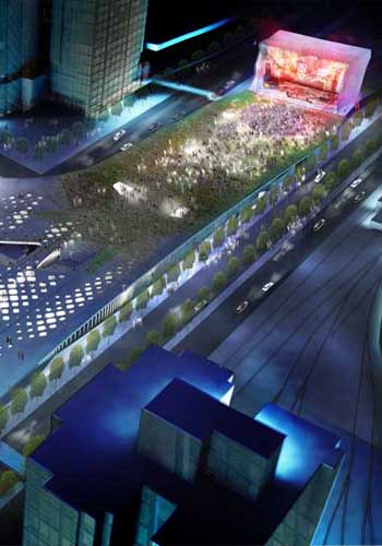 Taipei Pop Music Center Competition images / Reiser + Umemoto via E-architect