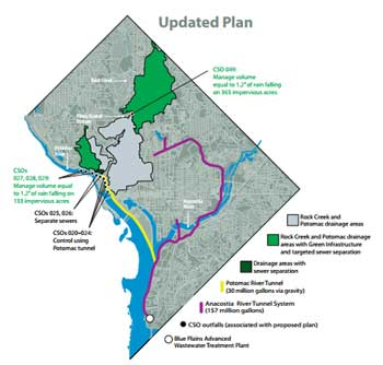 New Clean Rivers Project Plan in 2015 / DC Water