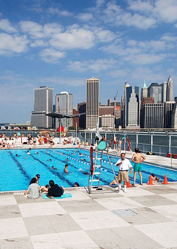 Swimming pools go offshore the dirt - Sportspark swimming pool new york ny ...