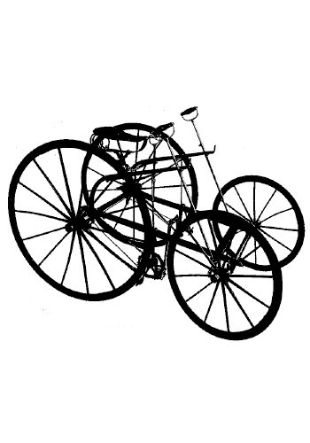 Early automobile technology utilized cycle tech like the knuckle hinge, allowing for better steering and handling / Island Press