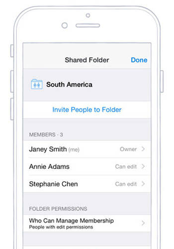 Screenshot of the Dropbox app / Dropbox on the Apple iTunes Store