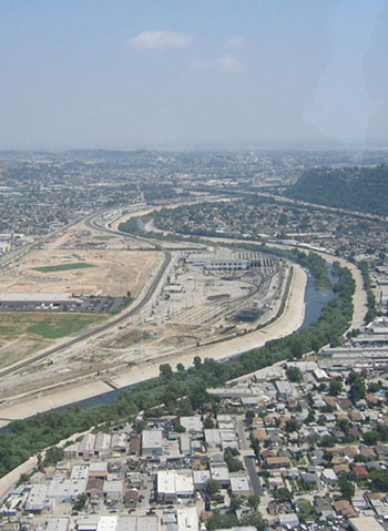 la river before