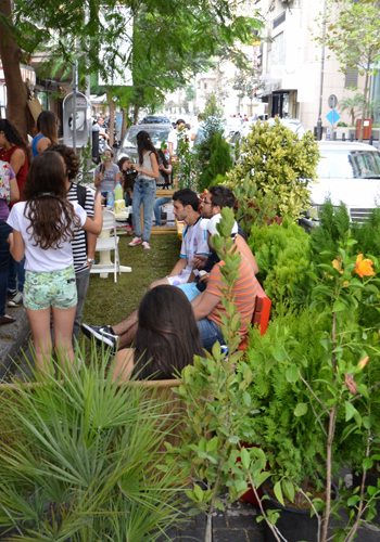 Landscape architects get your park ing day on the dirt for Association of landscape architects