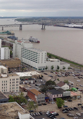A 2010 study found that Baton Rouge, Louisiana is the most sprawling urbanized area in the U.S.