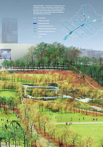 SCAPE's winning design for Town Branch Commons / SCAPE / landscape architecture