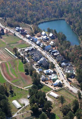 Serenbe aerial view / Serenbe