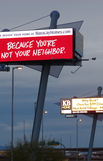 Digital Billboard in Tempe, Arizona / Scenic America