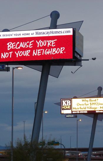 Digital Billboard in Tempe, Arizona / Scenic America