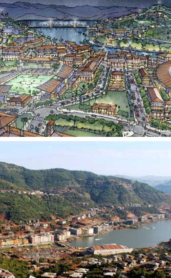 Lavasa Hill City, India / HOK