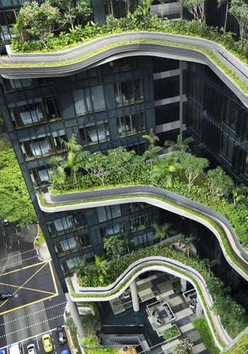 Parkroyal on Pickering, Singapore / WOHA website