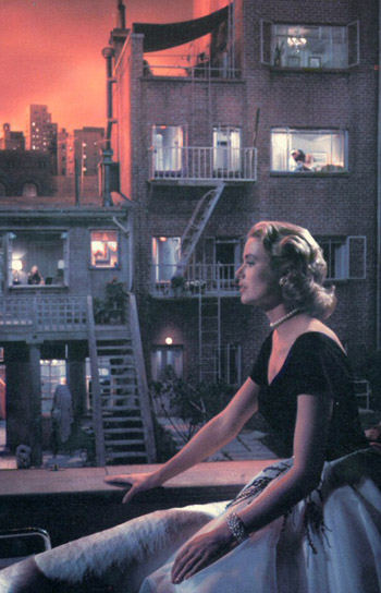 Rear Window set / Hitchcock Zone