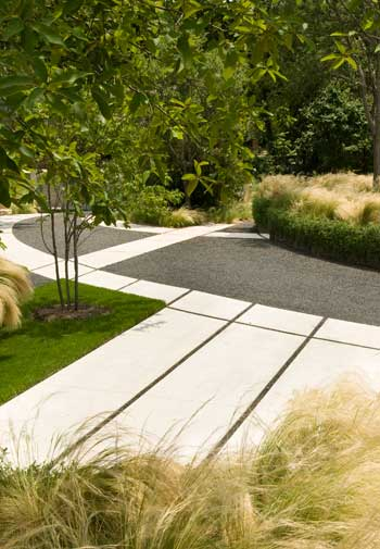 Sponge residential garden / Ten Eyck Landscape Architects, Inc.