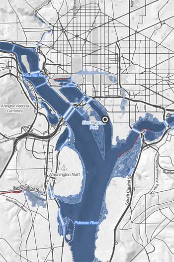 Sea Level Rise in Washington, D.C. / Climate Central