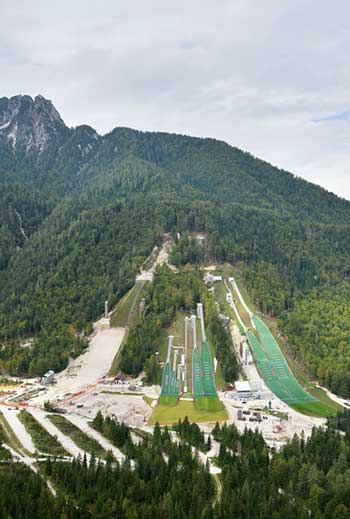 Nordic Ski Center in Planica, Slovenia / Studio Akka