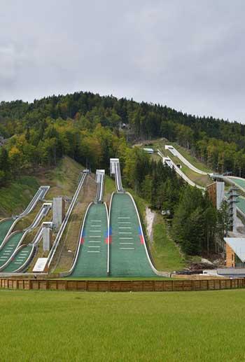 Nordic Ski Center in Planica, Slovenia / © Miran Kambič