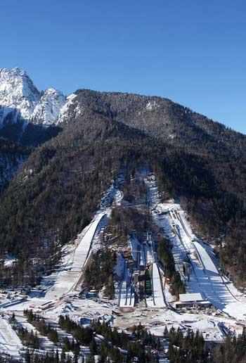 Nordic Ski Center in Planica, Slovenia / Studio Akka