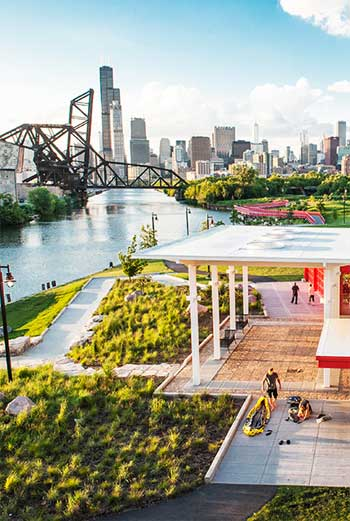 Ping Tom Memorial Park, Chicago / site design ltd