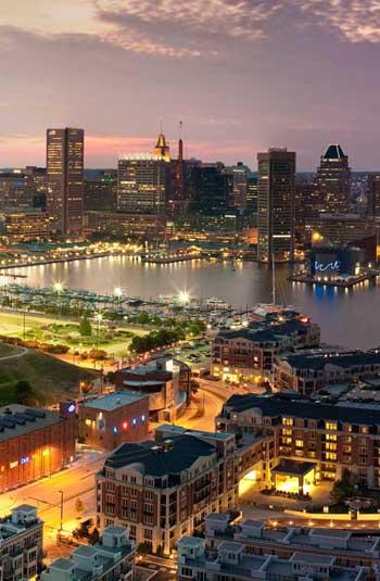 Baltimore Inner Harbor / RXrealty.com