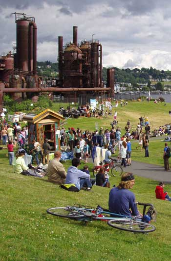 Gas Works Park / Richard Haag Associates