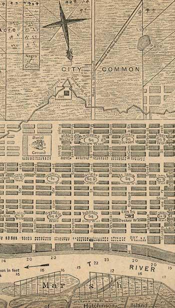 Ogelthorpe plan of Savannah, Georgia / Wikipedia