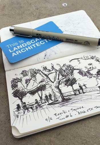 Landscape sketch / Studio1619