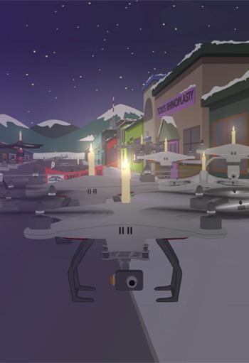 Drones / South Park