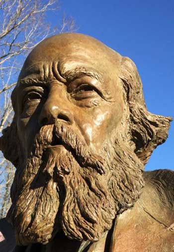 Olmsted statue / The San Francisco Chronicle / AP