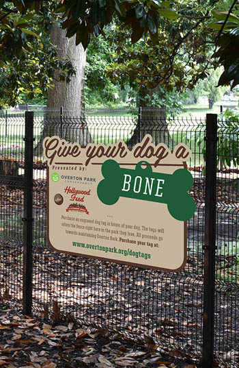 Overton Bark fence / Overton Park