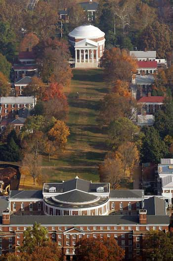 University of Virginia campus / Perfect Soccer Recruit