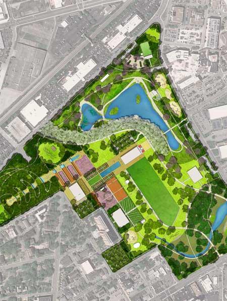 Centennial park master plan, Tennessee / Gustafson Guthrie Nichol