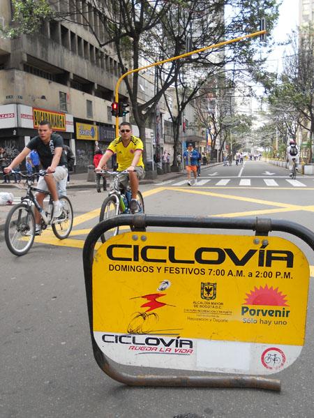Ciclovia, Bogota / Kiwi crossfit odyssey