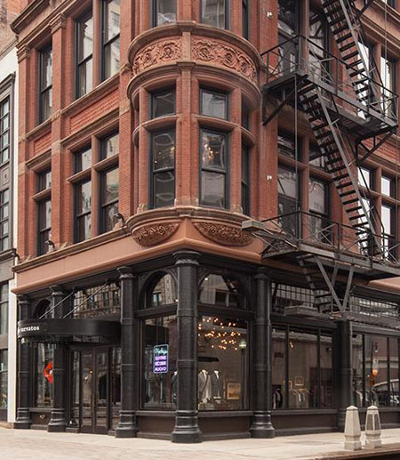 John Varvatos boutique, downtown Detroit / John Varvatos