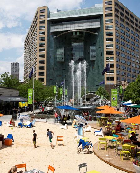 Campus Martius Park / Show Me Detroit Tours