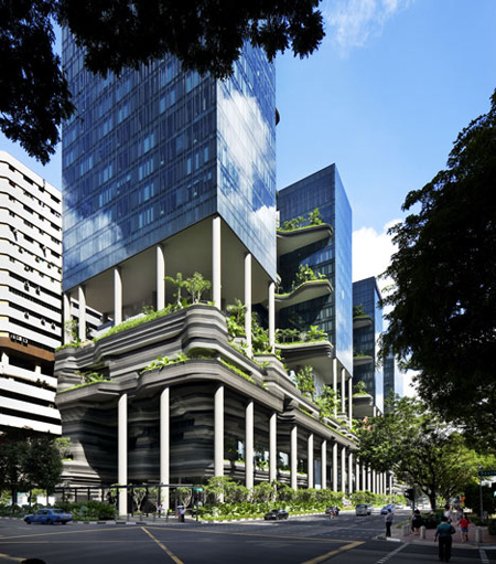 Parkroyal on Pickering by WOHA and Tierra Design / Dezeen