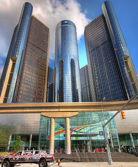Renaissance Center, Detroit / Wikipedia
