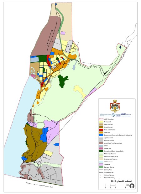 Aqaba 2012 Master Plan / Aqaba Development Corporation
