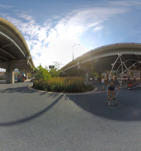 Underpass Park in Virtual Reality / ASLA