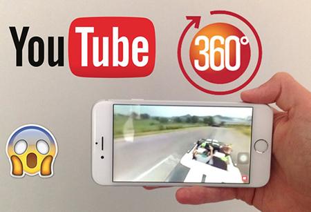 YouTube 360 on mobile / YouTube
